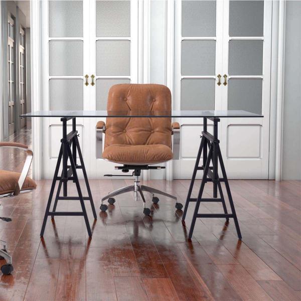 Ralston Desk Antique Black by Zuo Modern