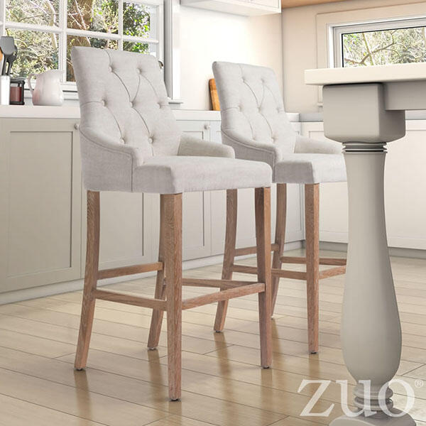 Burbank Counter Chair Beige