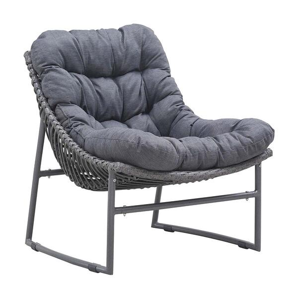 Ingonish Beach Chair Gray (Set of 2)