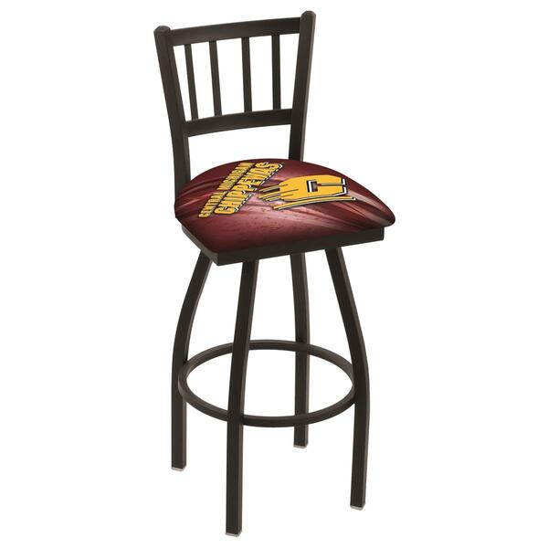 Central Michigan Counter Height Bar Stool w Official  : L018CenMic D2 from www.familyleisure.com size 600 x 600 png 428kB
