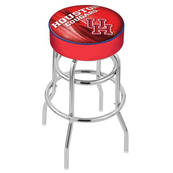 Houston Counter Height Bar Stool w Official College Logo  : L7C1Houston D2 from www.familyleisure.com size 600 x 600 png 486kB