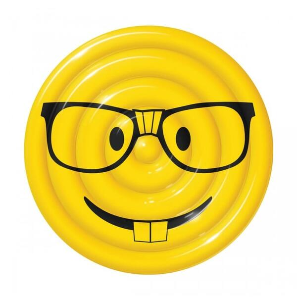 Glasses Emoji Pool Float by SPORTSTUFF