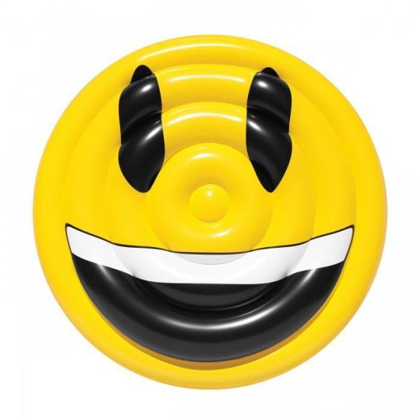grin emoji pool float