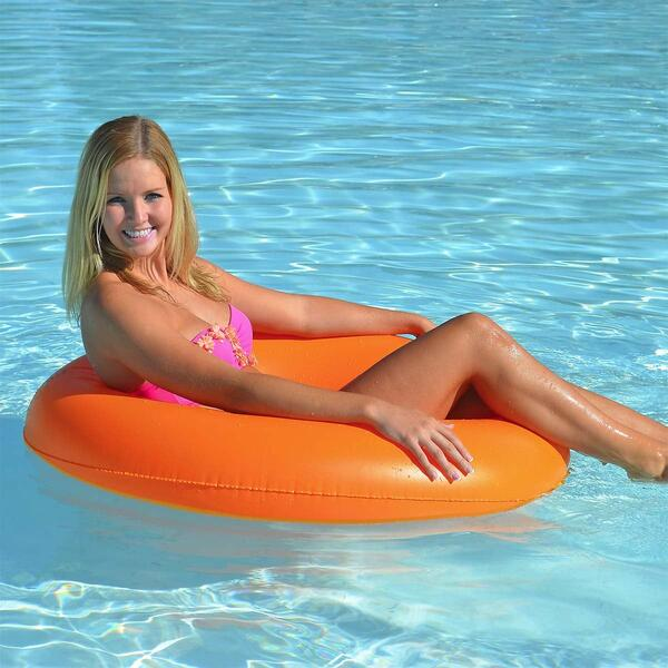 Tangerine Designer Series Tube -Aqua by Airhead / Kwiktek