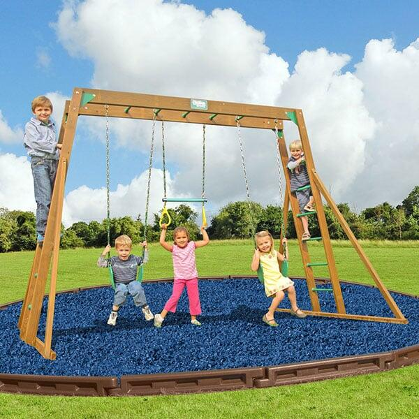 Classic with Top Ladder Swing Set