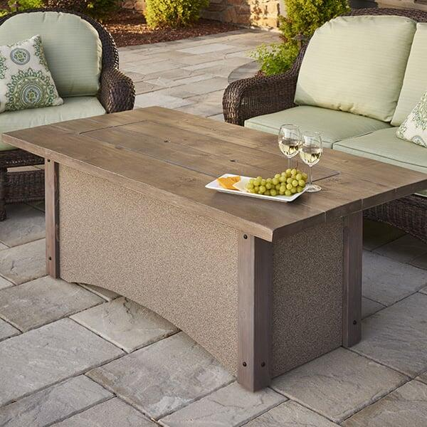Pine Ridge Fire Pit Table by Outdoor GreatRoom