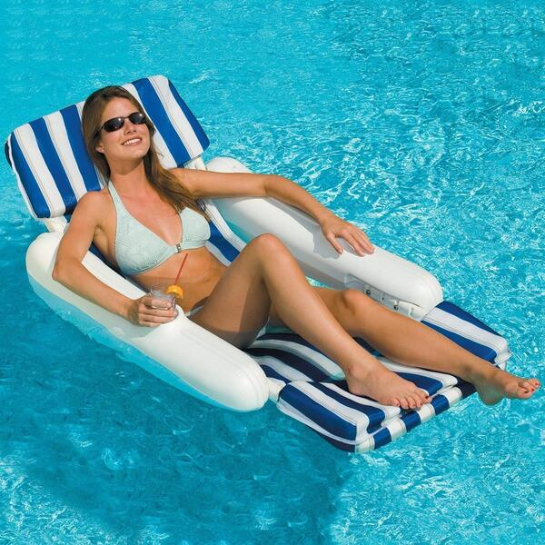 SunChaser 10100 Padded Sling Lounge Chair by Swimline