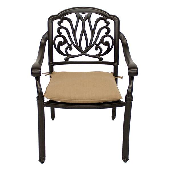 luxe dining chair