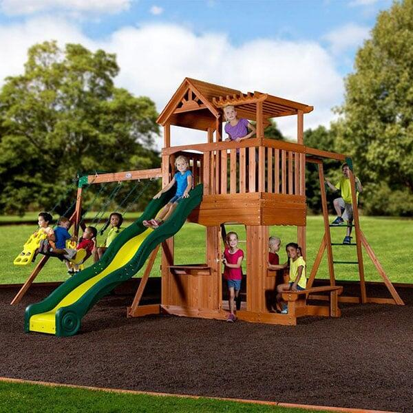 Thunder Ridge Swing Set