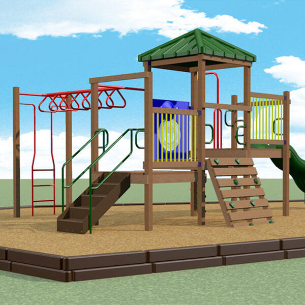 Commerical Swing Set