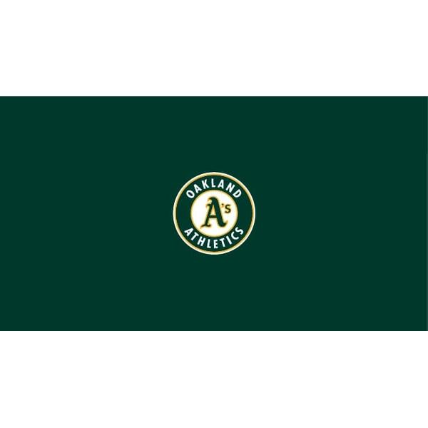Oakland Athletics 8' Pool Table Cloth
