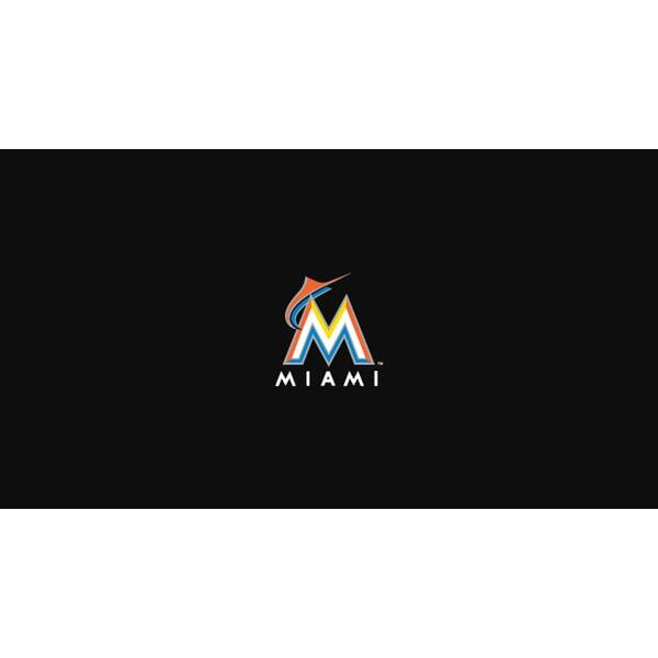 Miami Marlins 8' Pool Table Cloth