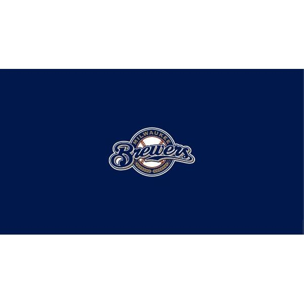 Milwaukee Brewers 8' Pool Table Cloth