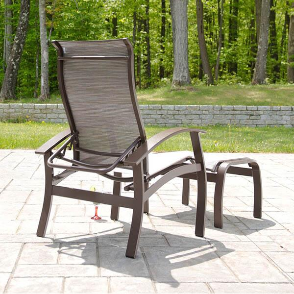 Belle Isle Sling Deep Seating by Telescope Casual