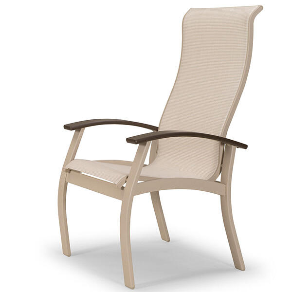 Belle Isle Sling Dining Supreme Arm Chair by Telescope Casual