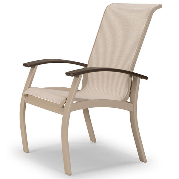 Belle Isle Sling Dining Arm Chair by Telescope Casual