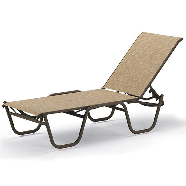 Reliance contract sling chaise lounge for Casual chaise lounge