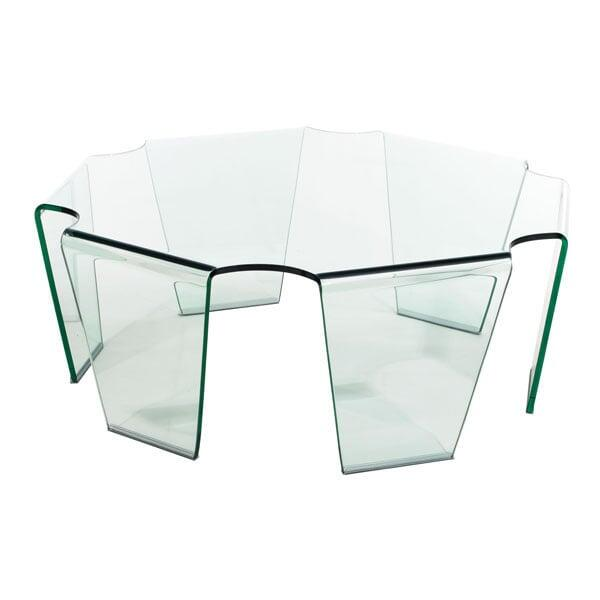 Circuit Coffee Table by Zuo Modern