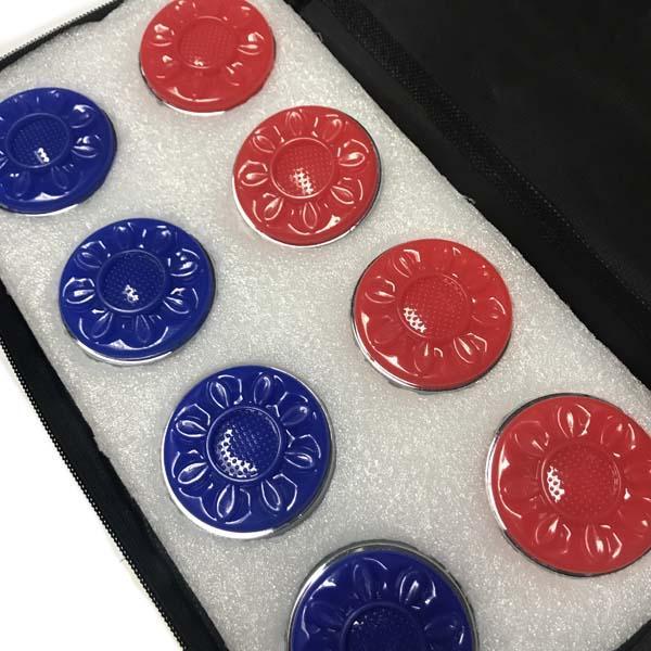 shuffleboard pucks case
