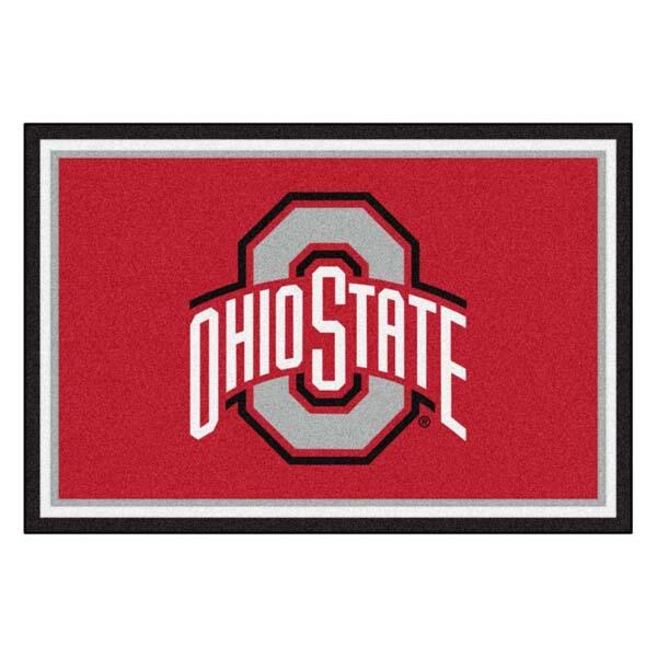 Ohio State College Team Spirit Area Rug by Milliken