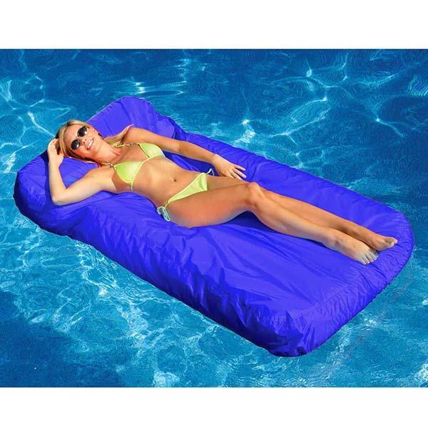 SunSoft Inflatable Mattress - Blue