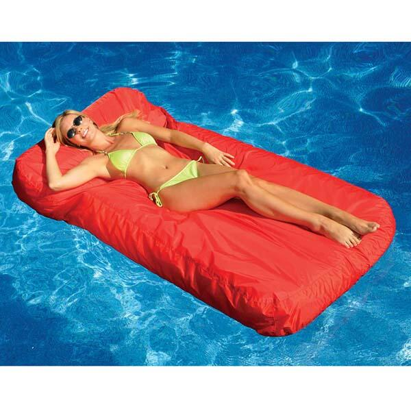 SunSoft Inflatable Mattress - Red