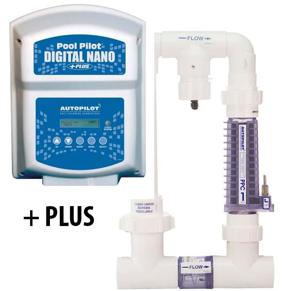 220 Volt 32K Gallon Pool Pilot Digital Nano Salt Generator