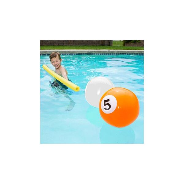 Blow-Up Billiards Swimming Pool Balls