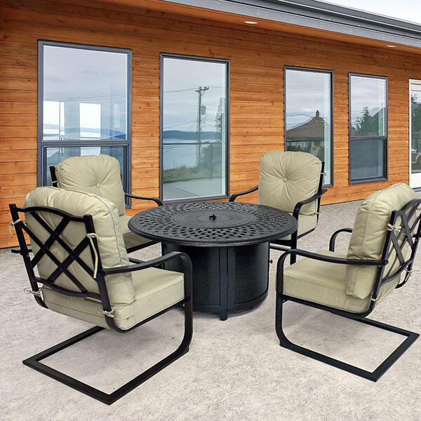 Cayman - Fire Pit Set by Agio Select