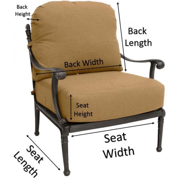 Club Chair Measurements