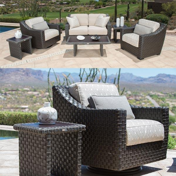 Cooper Woven Deep Seating by Gensun