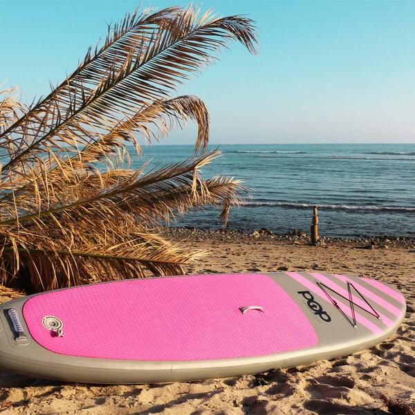 Inflatable SUP on the Beach Pink Model
