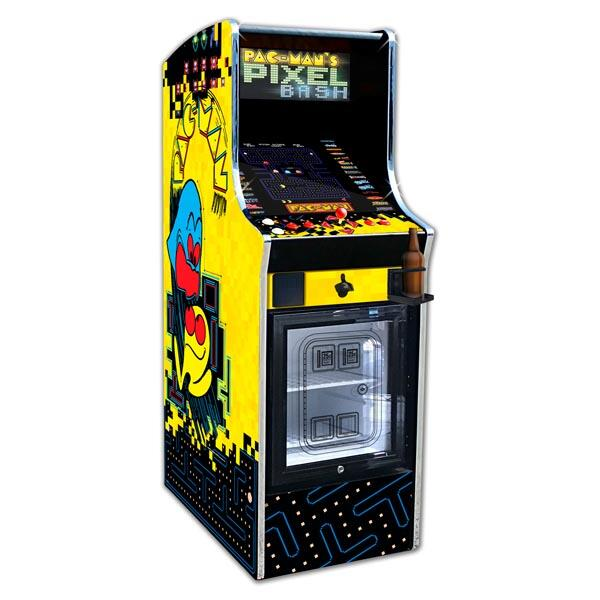 Pac Man Pixel Bash Chill Cabinet