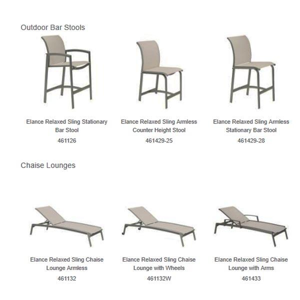 Hit The Mark With This Relaxed Sling Furniture