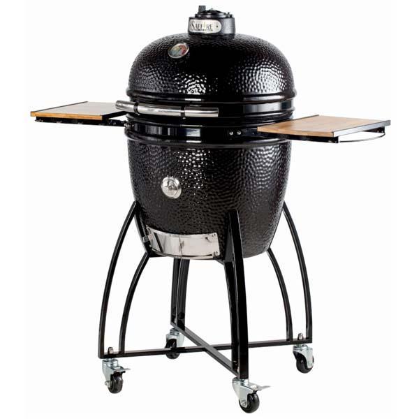 "Large 19"" Bronze Kamodo Smoker Grill Cart"