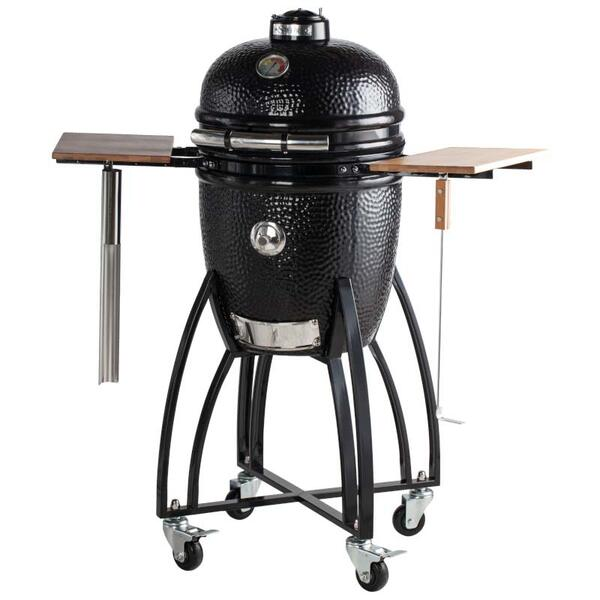 "15"" Medium Bronze Kamodo Smoker Grill Cart"