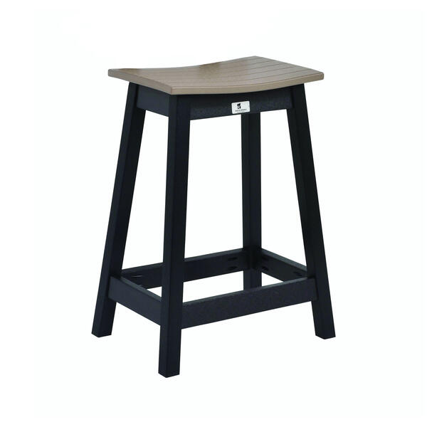 Saddle Counter Stool by Berlin Gardens