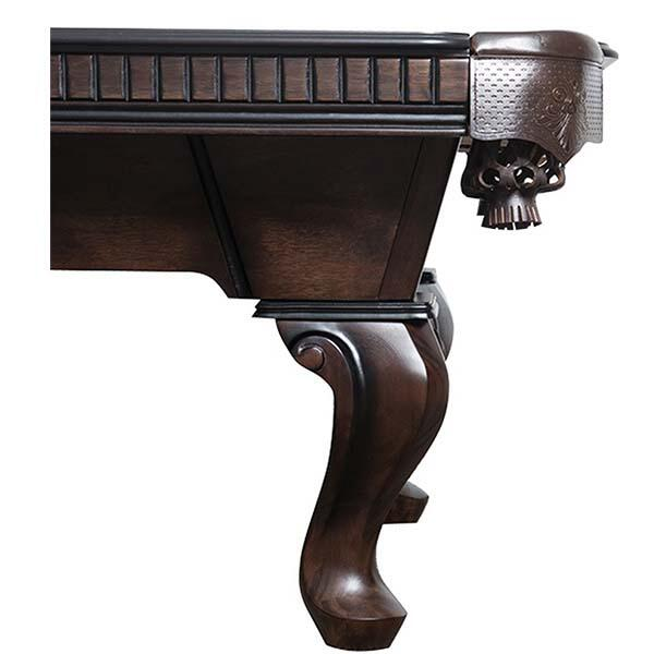 Cleveland Pool table by Presidential Billiards leg detail