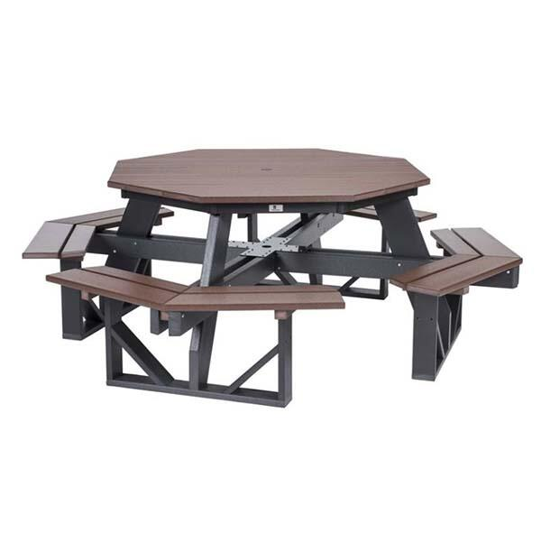 Octagon Picnic Table by Berlin Gardens basic