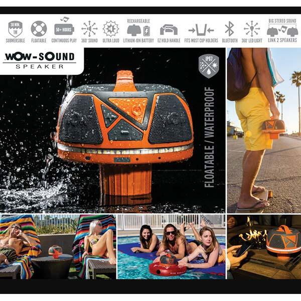 The Wow-Sound Preaker collage