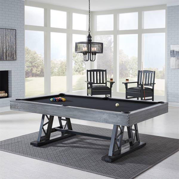 8' Ambassador Pool Table by American Heritage