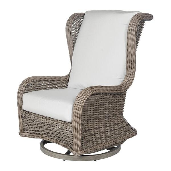 Bellevue Wingback Swivel Club