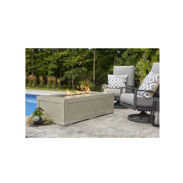 Cove Linear Gas Fire Table by The Outdoor GreatRoom Company