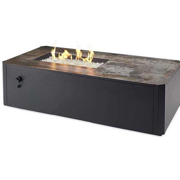 Kinney Gas Fire Table by The Outdoor GreatRoom Company