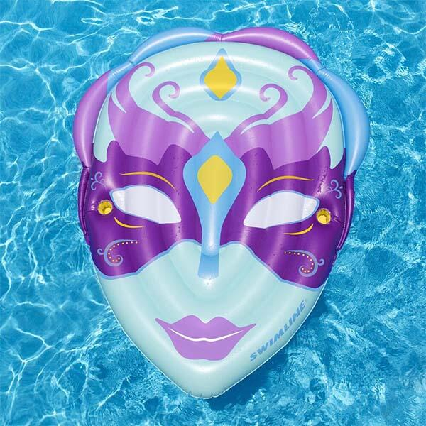 Mardi Gras Mask Pool Float by Swimline