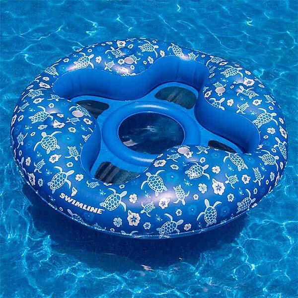 Tropical 4 Person Lounger by Swimline
