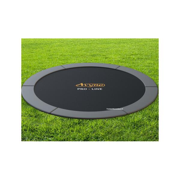 14' Flat Level Inground Trampoline by Avyna