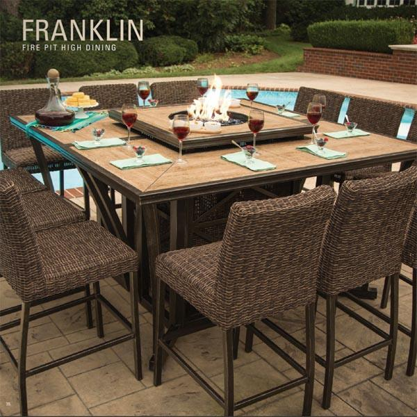 Franklin Bar Height Set