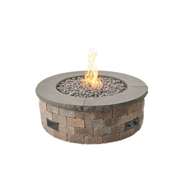 Bronson Round Hardscape Firepit Kit