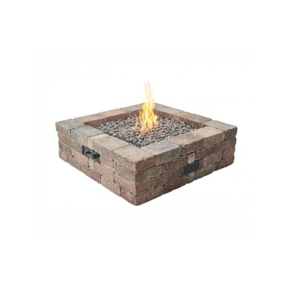 Bronson Square Hardscape Firepit Kit by The Outdoor GreatRoom